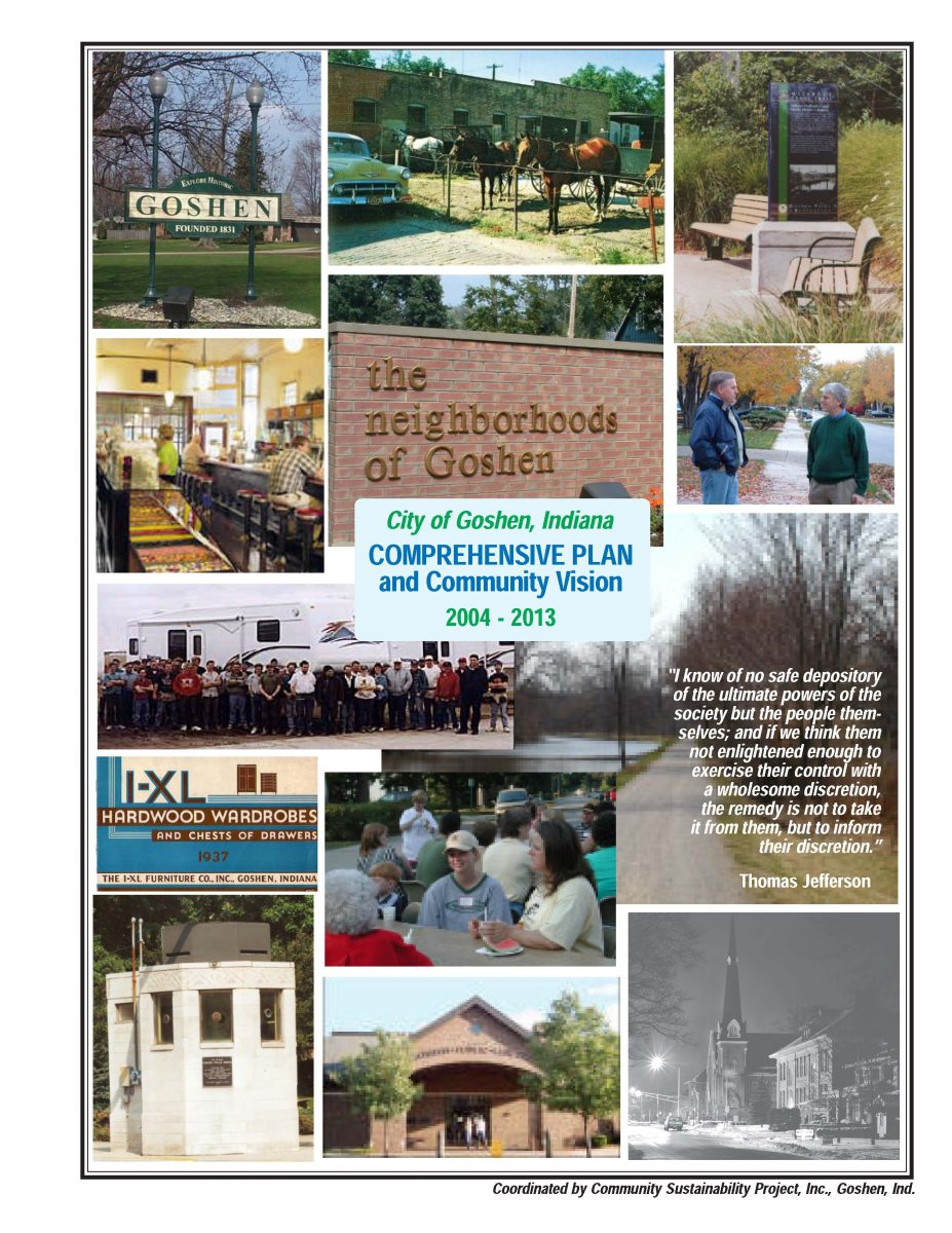 2004-2013 Goshen Comprehensive Plan and Community Vision