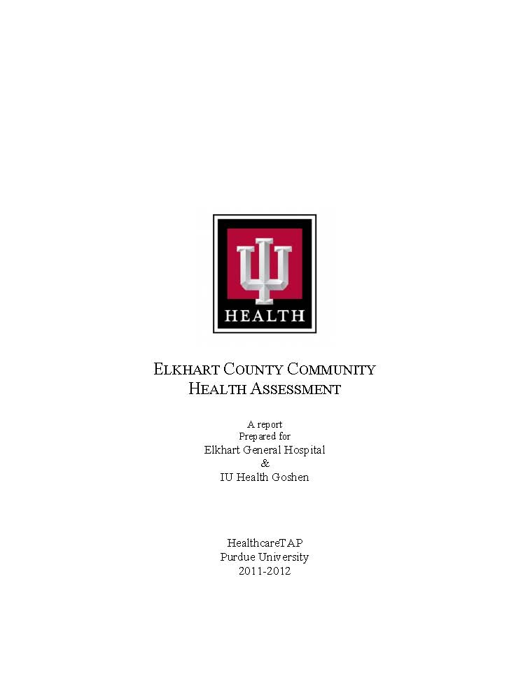 Elkhart County Community Health Assessment