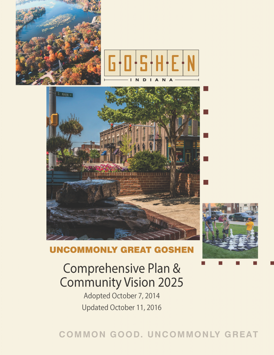 Goshen Comprehensive Plan and Community Vision 2025