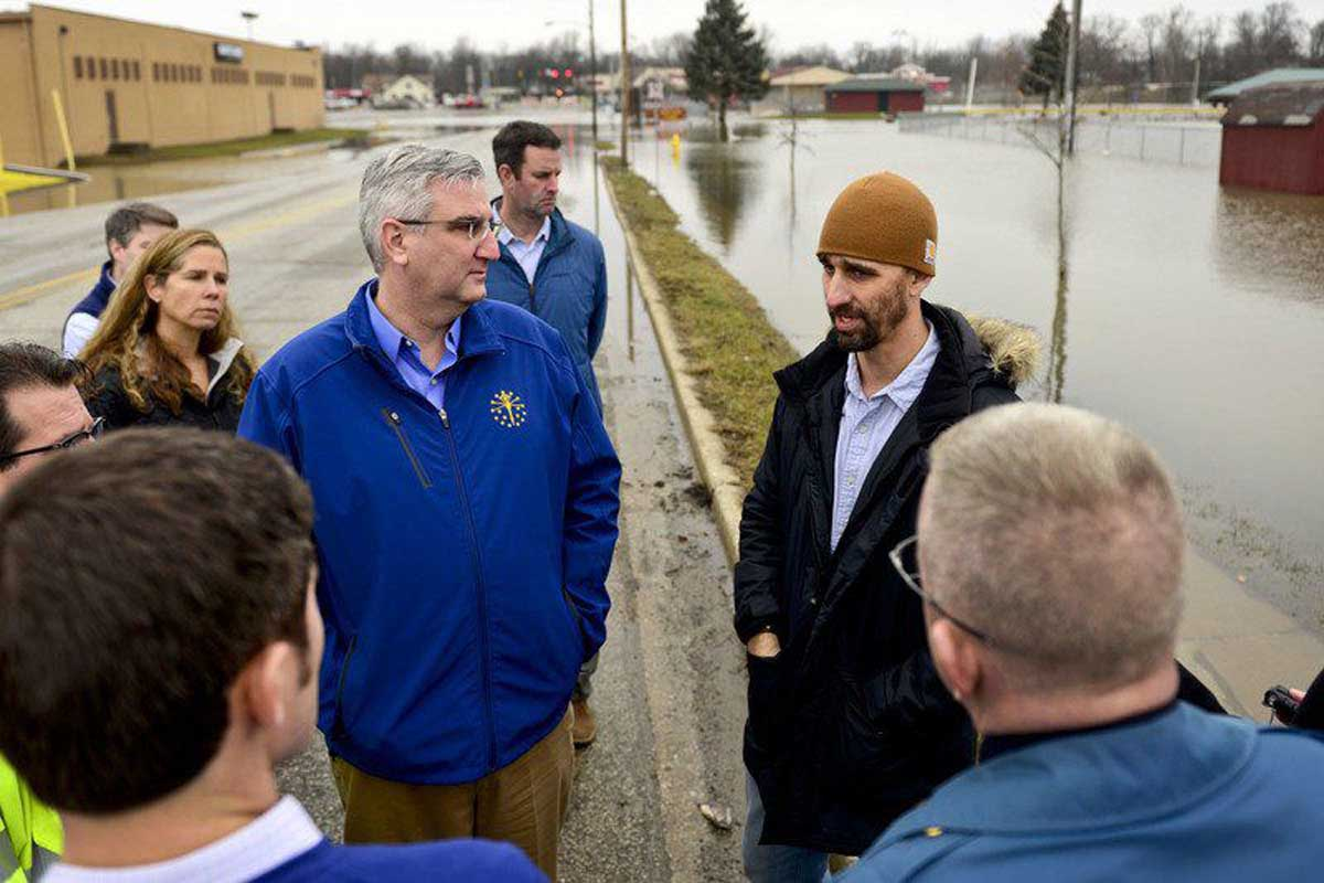 Governor says city, state working together to assess flood damage