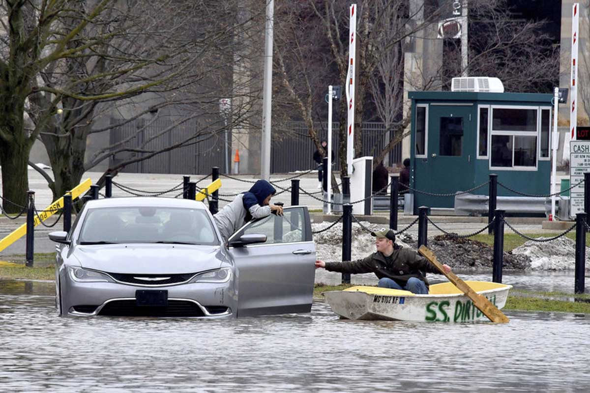 Widespread Flooding Brings Misery To Midwest
